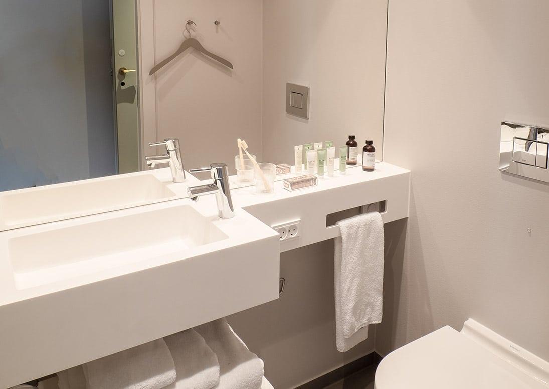 Standardværelse toilet