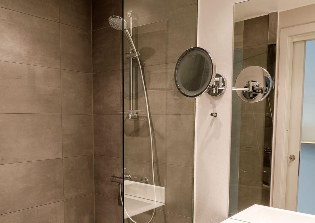 Standardværelse toilet bad