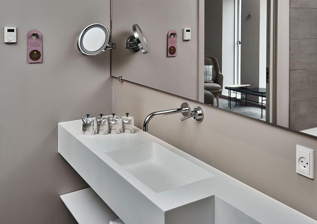 Suite toilet